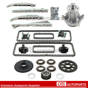 For 03 05 Lincoln Aviator Ford Mustang 4 6l Dohc 32v Timing Chain Water Pump Kit