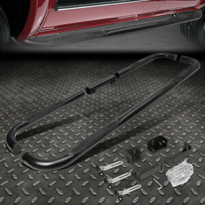 For 99 11 Chevy ram gmc Ext crew Cab Black 3 Side Step Nerf Bar Running Board