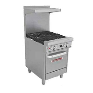 Southbend 4243e 24 Ultimate Restaurant Gas Range