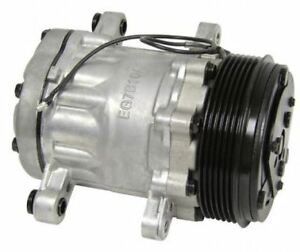 New Sanden Sd7b10 Mini A c Compressor Satin Finish For R134a Charge