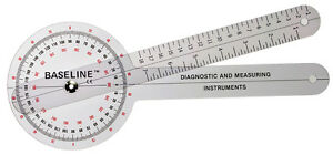 Plastic Goniometer 360 Degree Head 12 Arms 25 Pk