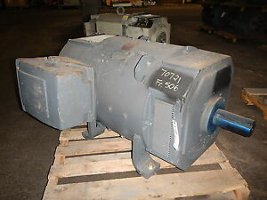 250 Hp Emerson Dc Electric Motor 1750 Rpm 506at Frame Dpfv 500 V