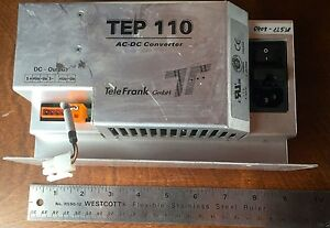 Telefrank Power Supply Ac dc Converter Tep110 24 24vdc 4a Made In Germany 02033