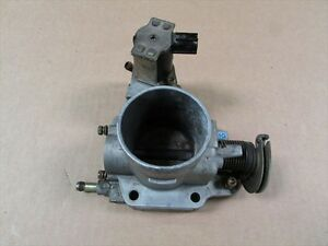 2003 Mazda Protege Oem Throttle Body 2 0l Turbo Manual Trans With Crusie