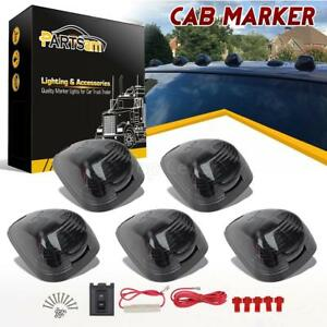 5x Smoke Cab Roof Top Light Covers 5xbase Wiring Pack For Ford F 250 E 350 99 16