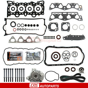 98 05 Lexus Gs300 3 0l V6 2jzge Timing Belt Hydraulic Tensioner Water Pump Kit