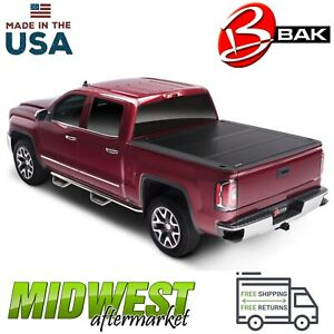 Bakflip Fibermax Tonneau Cover For 2017 2019 Ford F 250 F 350 Superduty 6 9 Bed