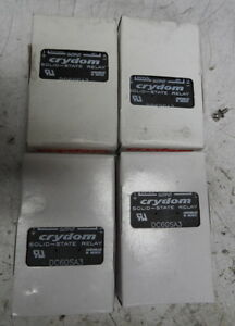 Crydom Solid State Relay Dc60sa3 Lot Of 4 Never Installed Free Shipping