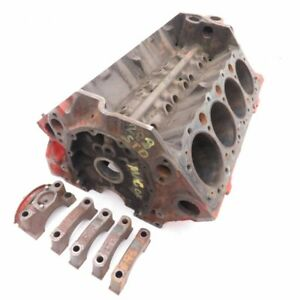 Chevelle Original Standard Bore 283 Bare Engine Block 3896944 E 22 7 1967
