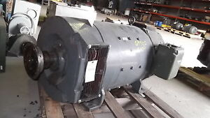 150 Hp Dc Imperial Electric Motor 1750 2000 Rpm 409at Frame Dpfv 500 V