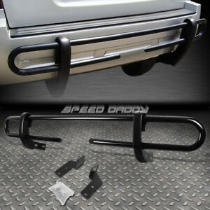 For 03 09 Toyota 4runner gx Black Coated Double bar Rear Bumper Protector Guard
