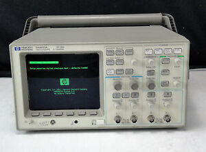 As is Agilent Hp 54601a 001 002 4 Channel 100mhz Oscilloscope