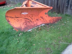 Drift V Plow 48 Wide 3 Point Style Attachment Was On A Holder C500 Tractor
