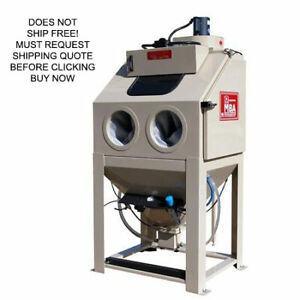 New Mediablast Usa Made N 200 Abrasive Sand Glass Bead Blast Cabinet