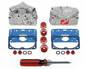 Quick Fuel 34 110 Holley Carburetor Quick Change Fuel Bowl Kit Aluminum New