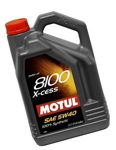 Motul 007250 8100 X cess 5w 40 Synthetic Gasoline And Diesel Engine Oil 5 L