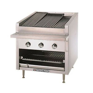 Bakers Pride C 24r 24 Wide Gas Countertop Charbroiler