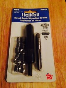 M8x1 Helicoil Complete Thread Repair Metric Kit Never Opened