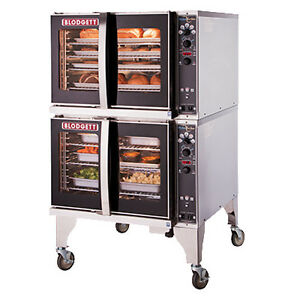 Blodgett Hv 100g Double Full Size Gas Hydrovection Oven