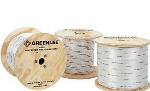 New Greenlee 4436 Measuring Muletape 1 800 Lbs Test 1 Reel 3000 Feet