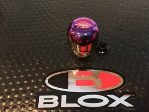 Blox Racing Limited Series Neo Chrome Type r 6spd Shift Knob 10x1 5 Acura Honda