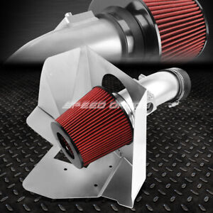 For 07 11 Camry 16 Venza V6 3 5 Coated Aluminum 4 cold Air Intake heat Shield