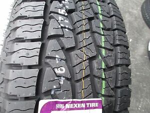 2 New 245 70r17 Inch Nexen Roadian At Pro Tires 2457017 245 70 17 R17 70r