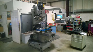 Kent Tw 32qi Fully Automatic Cnc Bed Mill W Manual Dro Capability