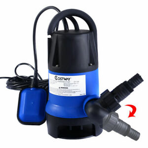 1 2hp Submersible Dirty Clean Water Pump Flooding Pool Garden Tool Swimming Pool