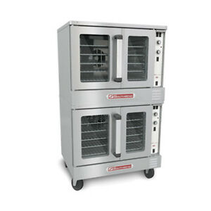 Southbend Gs 25cch Gas Cook And Hold Double Deck Convection Oven