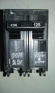 Siemens Q2125h 125 Amp 240v 22k Aic Circuit Breaker New In Box