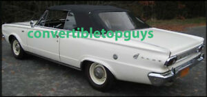 Dodge Dart Convertible Top Do It Yourself Package 1965 1966