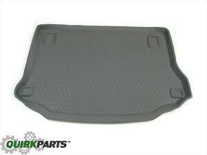 Mopar 2005 2007 Jeep Liberty Kj Molded Cargo Area Tray With Jeep Logo 82209254