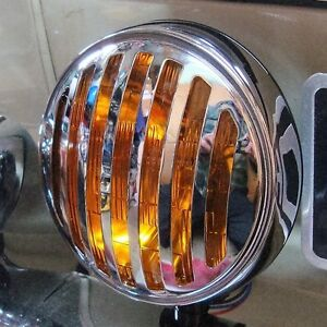Spot Light Amber With 356 Grille Light Sign For Porsche Vw Hotrod Ford Aac145