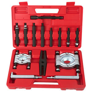 14pcs Bearing Separator Puller Set 2 And 3 Splitters Remove Bearings Tool Kit