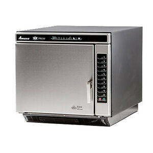 Amana Ace14v Ventless Commercial Convection microwave Combi Oven W Touch Pad