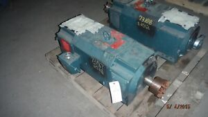 30 Hp Dc Reliance Electric Motor 1150 Rpm Lc2512atz Frame Dpfv 500 V