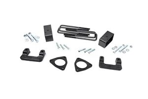 Rough Country 2 5 Leveling Lift Kit 2007 2018 Chevy gmc 1500 Pickup 1305