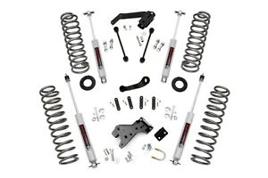 Rough Country 4 Lift Kit W N3 Shocks 07 18 4dr Jeep Jk Wrangler Unlimited 681s