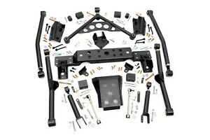 Rough Country Long Arm Upgrade Kit Fits 1999 2004 Jeep Wj Grand Cherokee 90900u