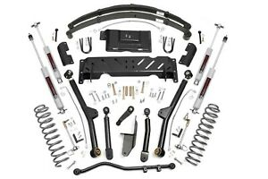 4 5 X series Long Arm Lift Kit 84 01 Jeep Xj Cherokee 2 5 4 0 Np231 68622