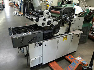 Hamada 665cd Envelope Press Press Specialties Envelope Feeder Lk Halm Jet