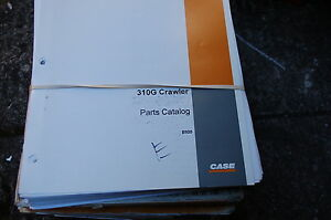 Case 310g Tractor Dozer Crawler Parts Manual Book Catalog Spare List 1970 Owner