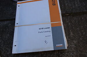 Case 621b Front End Wheel Loader Parts Manual Book Catalog Spare List 1995 Owner