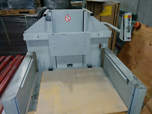 2005 Polar Paper Cutter Lift Ll 600 k 3 Air Board Lift