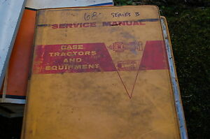 Case 680 Series B Backhoe Loader Repair Shop Service Manual Owner Overhaul Book