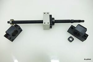 Thk Bnk1510 320l Ak12 af12 Ground Ball Screw 10mm Lead Nut Bracket Cnc Bsc i 158
