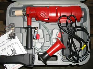 3 1 2 Professional Handheld Core Drill New In Box