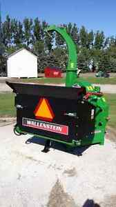 Wallenstein Bx102r 10 x17 Power Feed Tractor 3 point Pto Powered Wood Chipper