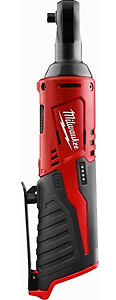 Milwaukee 2456 20 M12 Cordless 1 4 Ratchet Only